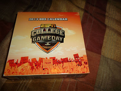 New  2013 Day-at-a-Time Desk CALENDAR..ESPN..College Gameday