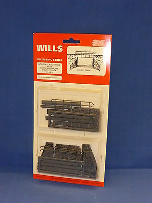 Wills OO Gauge Scenic Series Occupational Bridge with Stone Abutments SS32