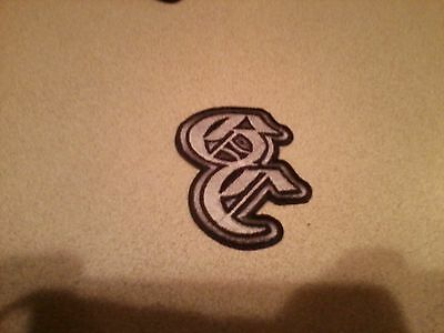 Good Charlotte Stitched Logo Rock Music Band Embroidered Iron On Patch