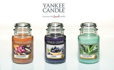 NEW Sping/Summer (2015) Fragrances, Yankee Candle Large 22oz Jar Scented Candles