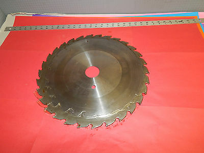 "Carbide tipped 16"" inch 30 tooth saw blade"