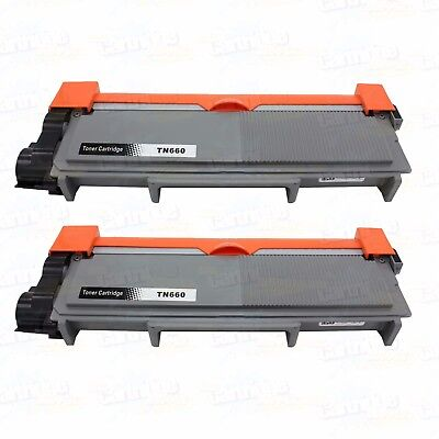 2PK TN660 Toner for Brother TN630 TN660 HL-L2340DW L2360DW L2320D L2380DW