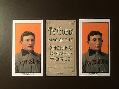 1909 T-206 Honus Wagner reprint card - Ty Cobb -One card