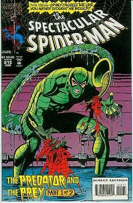 Peter Parker Spectacular Spiderman # 215 (USA, 1994)