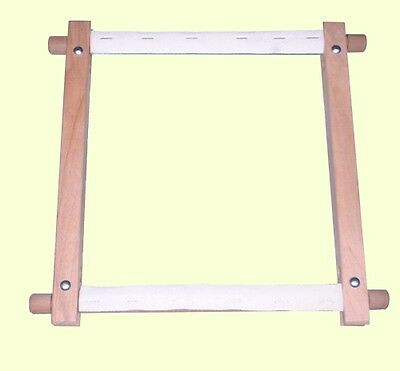 ELBESEE ROTATING WOODEN TAPESTRY / CROSS STITCH FRAME (Various Sizes)