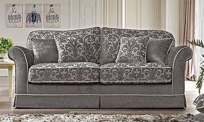 luxus sofa 3 sitzer massiv qualit t klassische. Black Bedroom Furniture Sets. Home Design Ideas
