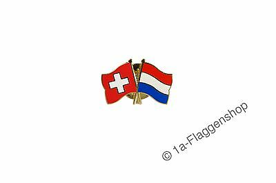 Switzerland Netherlands Flags Pin [Pin Flags]