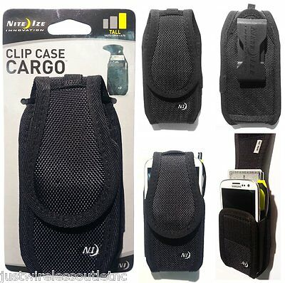 NITE IZE TALL CARGO SWIVEL BELT CLIP HOLSTER RUGGED CASE FOR IPHONE 5 CCCT-03-01
