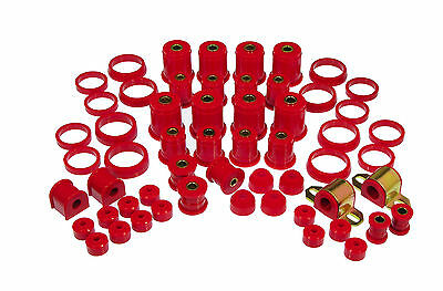 Prothane 93-98 Jeep Grand Cherokee Complete Suspension Total Mount Bushing Kit
