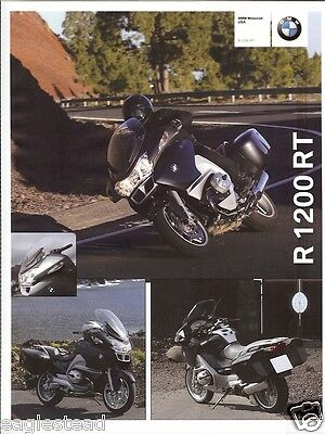 Motorcycle Brochure - BMW - R 1200 RT - 2008 (DC356)