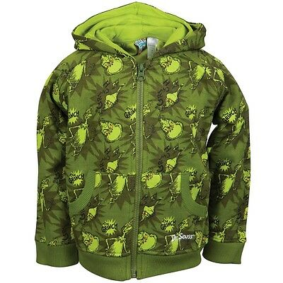 Dr. Seuss - The Grinch Sublimation Print Toddler Zip Hoodie