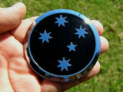 ~ Southern Cross Black Emblem - Holden Commodore Replacement Car Badge *new!*