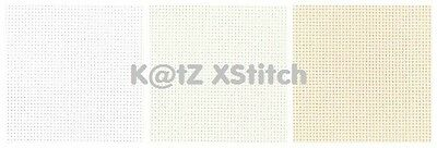 "FAT QUARTER (19½"" x 21½"") 22 COUNT ZWEIGART HARDANGER (Various Colours)"