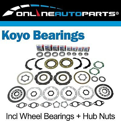 Landcruiser 80 Series Swivel Hub Wheel Bearing Hub Seal Knuckle Kit suits Toyota