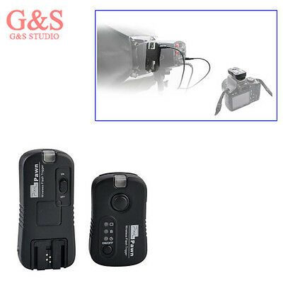 Pixel Pawn 2.4GHz Wireless Flash Trigger TF-363 Remote Shutter for Sony
