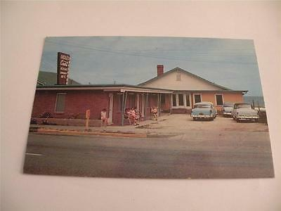 Vintage Postcard Cadillac Court Myrtle Beach Sc Chrome 1959 Posted