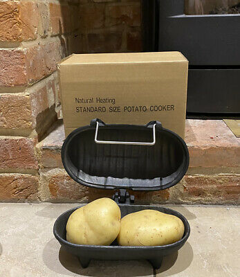 BAKED POTATOES / CHESTNUTS COOKER Oven use on Woodburning Multifuel Stoves Fires