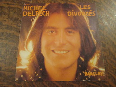 45 tours Michel Delpech - Les divorces