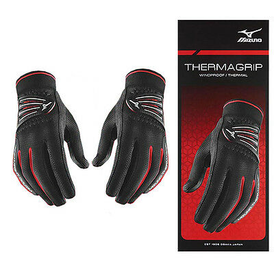 2016 Ladies Mizuno ThermaGrip Winter Playing Golf Gloves Womens -PAIR