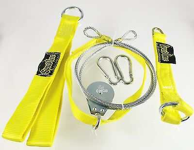 Spud Econo Pulley Lat Pulldown Machine Yellow Cable Attachment for Olympic Plate