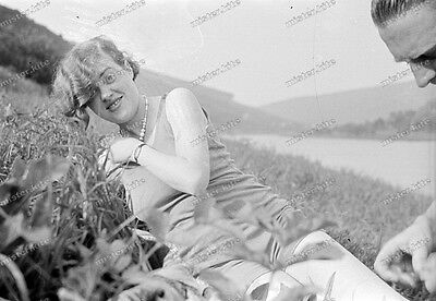 Negativ-Frau-Cute-German-Woman-Nature-Lady-Girl-1930er-Jahre-1930s-2