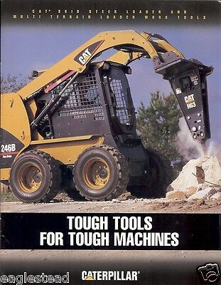 Equipment Brochure - Caterpillar - Skid Steer Loader Work Tools - 2005 (E1992)