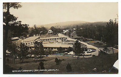 1915 RPPC Postcard Officials Dormitory Camp John Hay Baguio Philippines