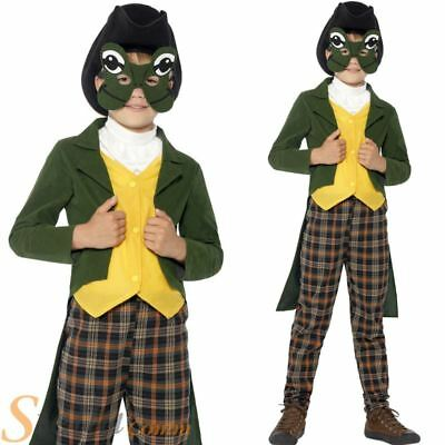 Boys Prince Charming Frog Costume Mr Toad Fairy Tale Child Book Week Fancy Dress
