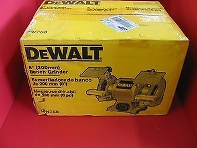 "New Dewalt Dw758 Electric 8"" 4.2 Amp Heavy Duty 3/4 Hp New In Box Sale Price"