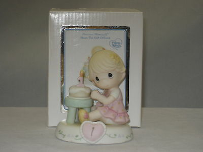 Precious Moments * Growing In Grace Age 1 Blonde (New Color) 142010 NIB