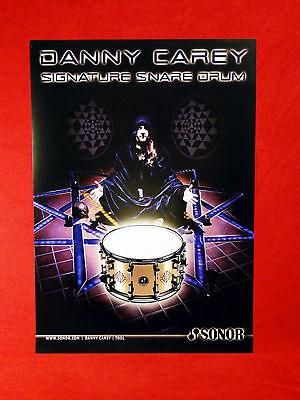 TOOL    Danny Carey Sonor Drums Promo Poster....