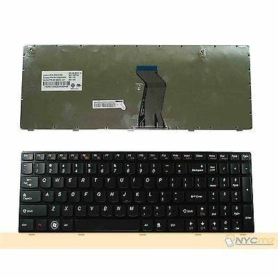 New Keyboard Black Frame 25012186 For IBM Lenovo Ideapad G770 G770A G780 G780A