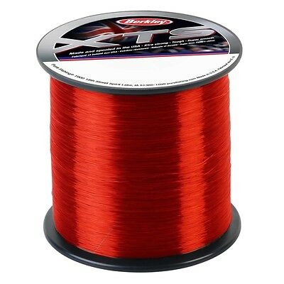 BERKLEY XTS SALTWATER RED SEA FISHING LINE #1/4 SPOOL MONO 15-45lb CARP PIKE
