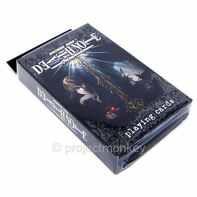 Death Note Pack / Deck Of Playing Cards L Light Misa Ryuk Anime Manga Licensed