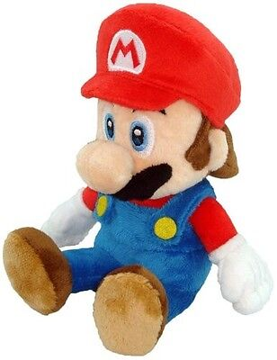 "BRAND NEW Sealed Little Buddy USA Super Mario Stuffed Plush Series - 8"" Mario!!!"