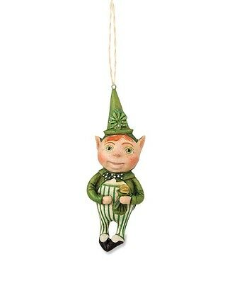 "Bethany Lowe ""Lucky Leprechaun Ornament"" designed by Debra Schoch"