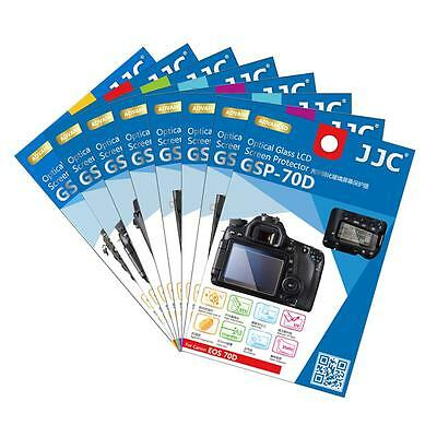 JJC 2Sets Optical Tempered Glass Screen Protector for Canon Nikon OLYMPUS Camera