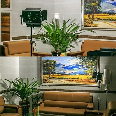 New Excelvan 900S 54W LED Video Light Panel Dimmable for Canon Nikon DSLR Camera