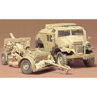 TAMIYA 35044 British 25 pounder & Quad Tractor 1:35 Military Model Kit