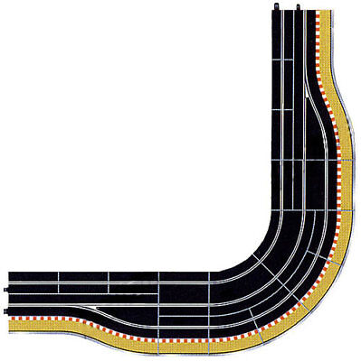 SCALEXTRIC Digital Track C9170J Pit Lane Corner RH Extension Kit