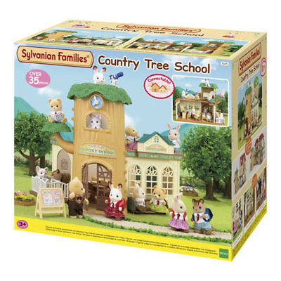 SYLVANIAN Families Country Tree School Dolls House 5105