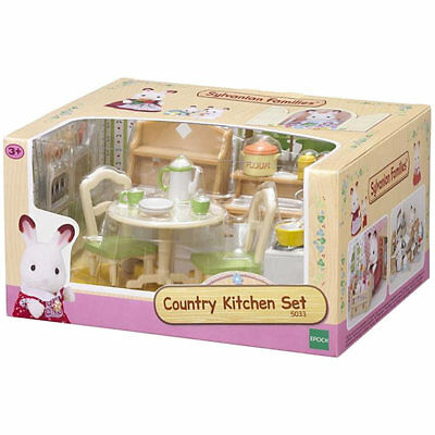 SYLVANIAN Families Country Kitchen Set Dolls Furniture 5033