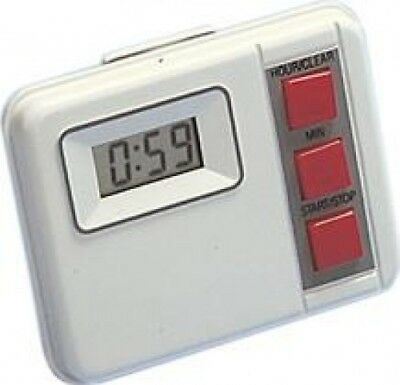 Altai White Electronic Countdown Timer (19 Hours 59 Minutes) Y137S