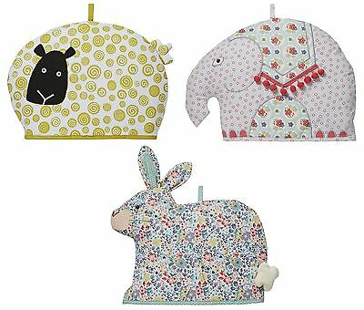 Ulster Weavers Shaped Cotton Tea Cosies Cosy Cozie Sheep, Elephant or Rabbit