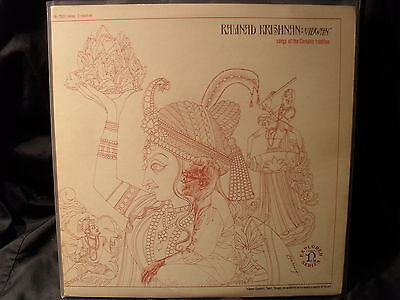 Ramnad Krishnan - Vidwan / Songs of the Carnatic Tradition   2 LPs