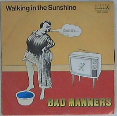 16328 45 giri - 7'' -  Bad Manners - Walking In The SunshineDE 3189
