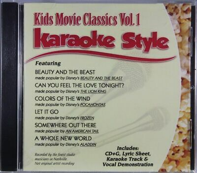 Kids Movie Classics Volume 1 Christian Karaoke Style NEW CD+G Daywind 6 Songs