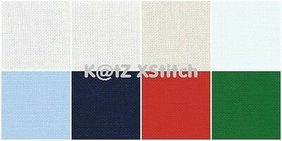 "15"" x 18"" 14 COUNT ZWEIGART CONTRACT AIDA (Various Colours)"