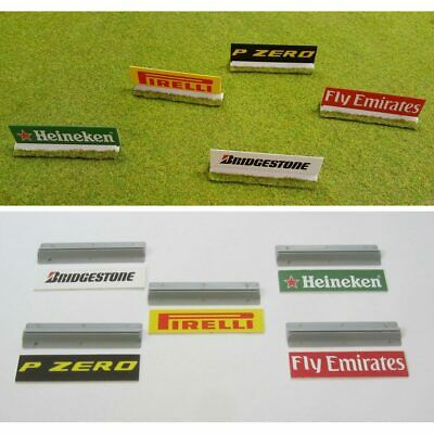 SLOT TRACK SCENICS AB3B Advertising Boards - for Scalextric