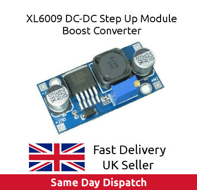 XL6009 DC-DC Voltage Step Up Boost Converter replace LM2577 3-32v input UK -Fast